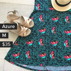 🆕 with tags ❤️ Lularoe Bird print skirt